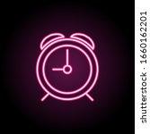 clock icon. simple thin line ...