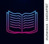 open book nolan icon. simple...