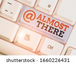 handwriting text writing almost ... | Shutterstock . vector #1660226431
