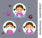 covid 19 or coronavirus 2019... | Shutterstock .eps vector #1660228267