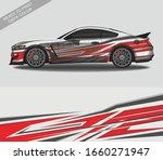 car wrap decal design vector ... | Shutterstock .eps vector #1660271947