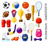 set of sport icons. stylized... | Shutterstock .eps vector #1660293574