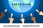 Earth Hour On March 28  2020 ....