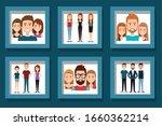 bundle designs of young people... | Shutterstock .eps vector #1660362214