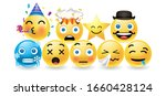 set round emitions with...   Shutterstock .eps vector #1660428124