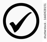 new check mark icon vector....