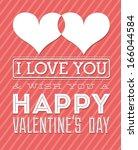 love design over lineal ... | Shutterstock .eps vector #166044584