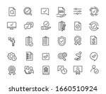 set of linear quality icons.... | Shutterstock .eps vector #1660510924
