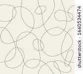 seamless bubble doodle pattern. ... | Shutterstock .eps vector #1660534474