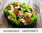 Salmon Salad   Roasted Salmon...