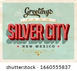 vintage touristic greeting card ... | Shutterstock .eps vector #1660555837
