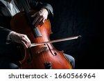 Cello Player Or Cellist...