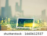 technology theme drawing and... | Shutterstock . vector #1660612537