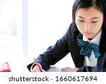Japanese Female Students...