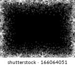 rectangular frame with small... | Shutterstock .eps vector #166064051