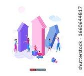 trendy flat illustration....   Shutterstock .eps vector #1660644817