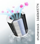 filters for air purifiers that...   Shutterstock .eps vector #1660645774