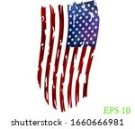 watercolor flag of america. usa ...   Shutterstock .eps vector #1660666981