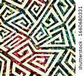 abstract vintage spiral...   Shutterstock . vector #1660680331