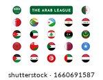 set of the arab league... | Shutterstock .eps vector #1660691587