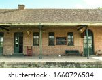 Old Wooden Train Station...