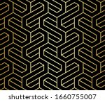 abstract geometric pattern with ... | Shutterstock .eps vector #1660755007