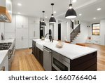 Beautiful White Kitchen With...