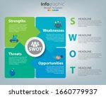 swot analysis business... | Shutterstock .eps vector #1660779937