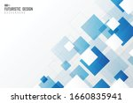 abstract gradient blur square...   Shutterstock .eps vector #1660835941