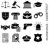 law line icons vector set.... | Shutterstock .eps vector #1660875517