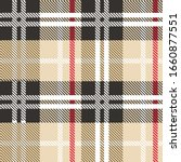 plaid texture fabric art color | Shutterstock .eps vector #1660877551