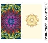 invitation or card template... | Shutterstock . vector #1660895011