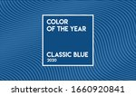 classic blue color sample.... | Shutterstock .eps vector #1660920841