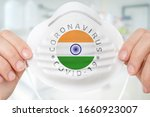 respirator mask with flag of... | Shutterstock . vector #1660923007