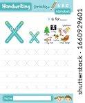 letter x uppercase and... | Shutterstock .eps vector #1660929601