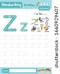 letter z uppercase and... | Shutterstock .eps vector #1660929607
