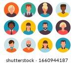 people avatars. profile id... | Shutterstock .eps vector #1660944187