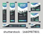 city background corporate web... | Shutterstock .eps vector #1660987801