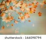 happy thanksgiving day... | Shutterstock .eps vector #166098794