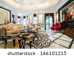 luxury living room with nice...   Shutterstock . vector #166101215