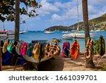 Bequia Island Vendor Selling...