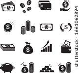 finance icons vector set | Shutterstock .eps vector #1661062894