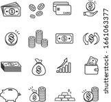 finance icons vector set | Shutterstock .eps vector #1661063377