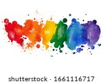 Colorful Watercolor Stain...