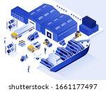modern flat design isometric... | Shutterstock .eps vector #1661177497