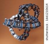 3d Bicycle Chain And Links...