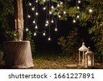 Night Wedding Ceremony With...