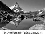 Matterhorn world famous iconic...