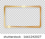 double gold shiny 16x9...   Shutterstock .eps vector #1661242027