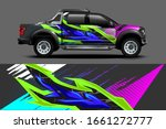 truck wrap graphic decal... | Shutterstock .eps vector #1661272777